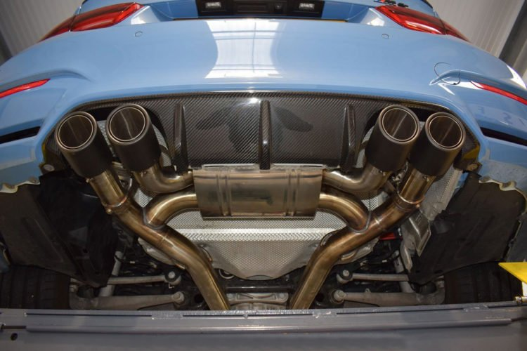 quicksilver bmw m3 4 active valve exhaust system