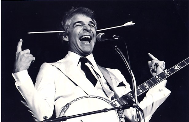 Steve Martin on 7/22/78 in Chicago, Il. (Photo by Paul Natkin/WireImage)
