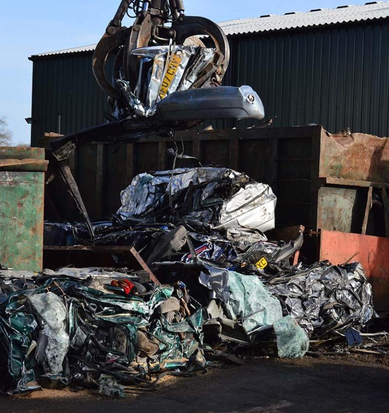 rugby scrap yard