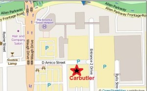 AIG Campus map