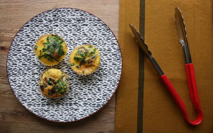 Eggy breakfast muffin