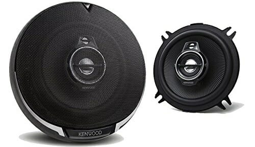 New Kenwood KFC-1395PS 5.25-Inch 3-Way Car Audio Coaxial Speakers