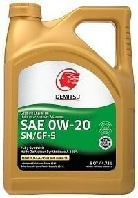 Idemitsu Full Synthetic 0W-20 Engine Oil