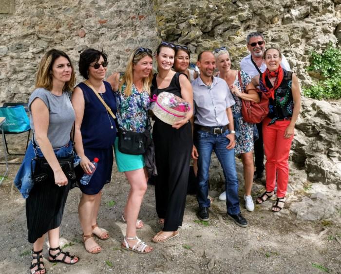 equipe gagnante du carca express aventure incentive a la cité