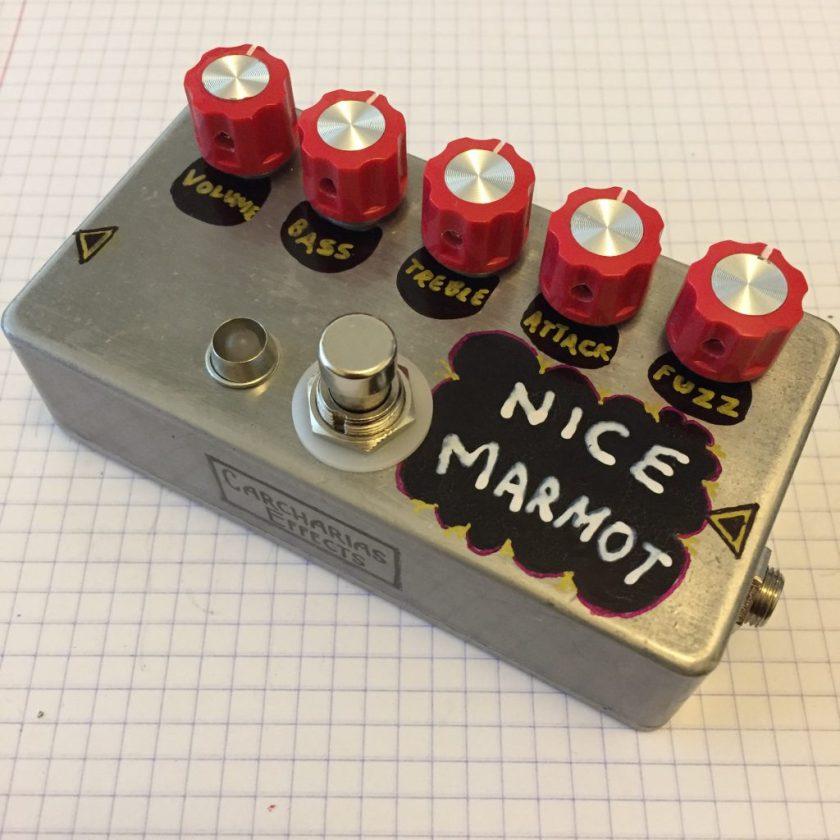 Nice Marmot - 5 knob Tonebender fuzz with Toneburner mods