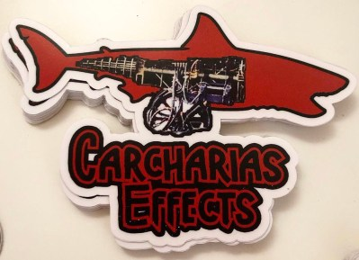 Carcharias Effects Bruce logo stickers