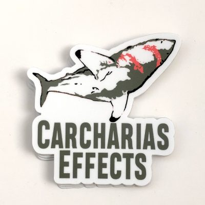 Carcharias Effects old logo sticker scaled