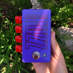 Derringer Fuzz Modded Univox Super Fuzz high gain octave fuzz pedal for guitar and bass front