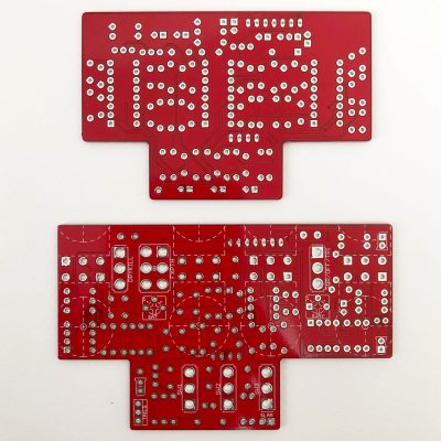Sagan Delay V2 by DC6FX bottom view dual stacked PCBs for DIY projects scaled
