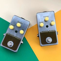 Twin Lemon Hazes Civil War Big Muff Pi clones