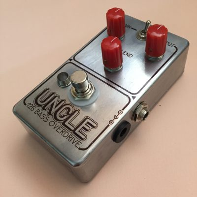Uncle 125 Bass Overdrive super modded DOD 250 for bass front right rotated