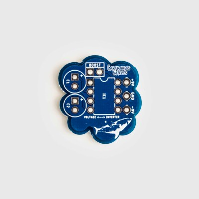Voltage Inverter Daughterboard PCB top