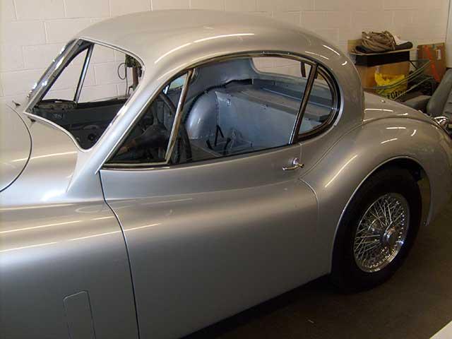 Jaguar Restoration Jaguar Interior Upholstery XK120