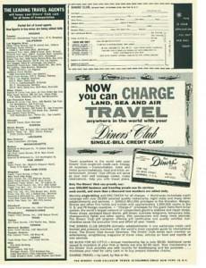 初期のダイナーズクラブの広告