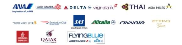 アメックス航空パートナーのマイルへ移行