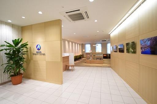 青森空港の空港ラウンジ「エアポートラウンジ」(ターミナル2階)