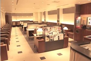 関西国際空港の空港ラウンジ「金剛」(第1ターミナルビル2階 南ウイング)