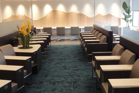 熊本空港のラウンジASOはアルコール類1杯無料と焼酎試飲が可能