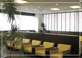 高松空港の空港ラウンジ「ラウンジ讃岐」(ターミナルビル2階)