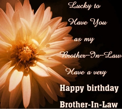 Brother In Law Birthday Verses Card Verses Greetings