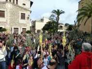 Benedicció dels Rams i Eucaristia Solemne a Sant Llorenç des Cardassar 2013002