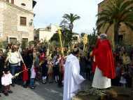 Benedicció dels Rams i Eucaristia Solemne a Sant Llorenç des Cardassar 2013006