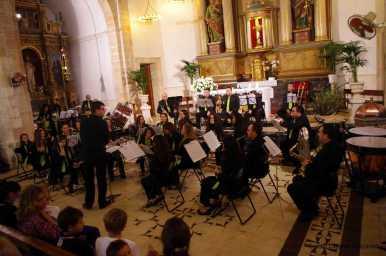 Coral i banda de música a l'esglèsia de Sant Llorenç. 19 d'octubre de 2013006