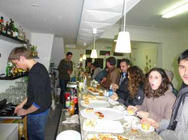 Imatges de la ruta de tapes a Sant Llorenç012