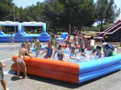 Jocs aquàtics escola Punta de n'Amer024
