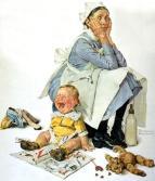 Norman-Rockwell-Nanny