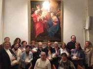 L'Ajuntament obsequia a les voluntàries de l'església de Sant Llorenç per agraïr la seva implicació