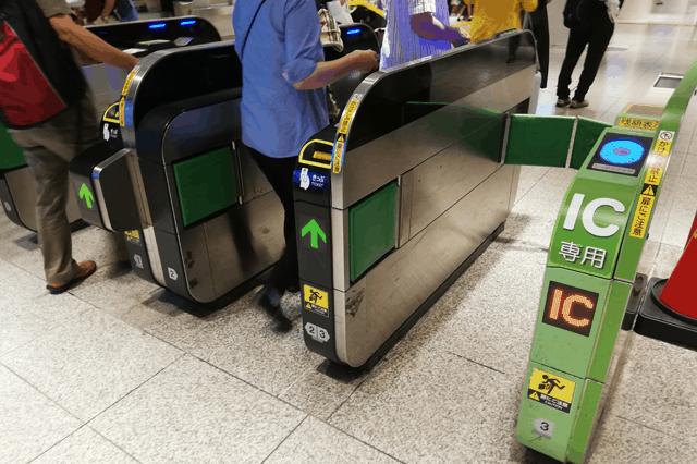 JR東日本の改札機