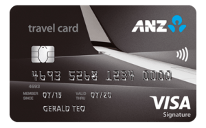 ANZ Travel Card Activation
