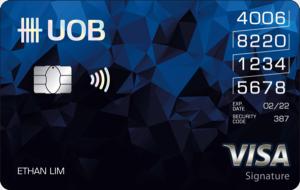 UOB Overseas Card Activation