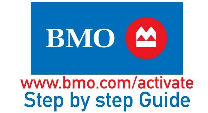 bmo credit card activation