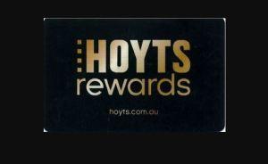Activate Hoyts Rewards Card