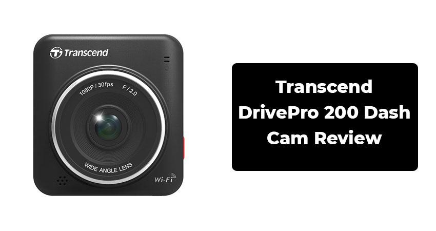 Transcend DrivePro 200 Dash Cam Review