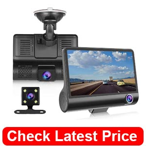 NOVPEAK Dash Cam 1080P FHD