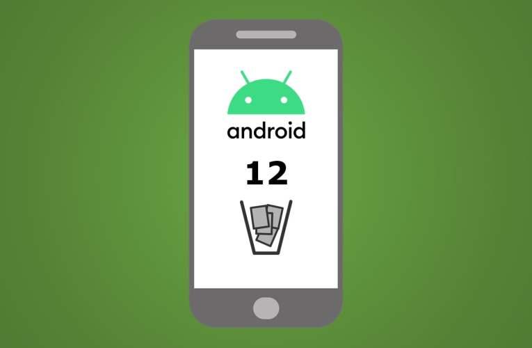 ¡Por Fin! Papelera de Reciclaje en Android 12