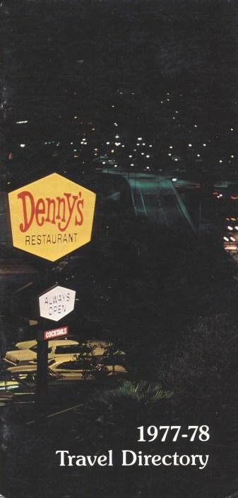 1977-78 - Denny's Travel Directory