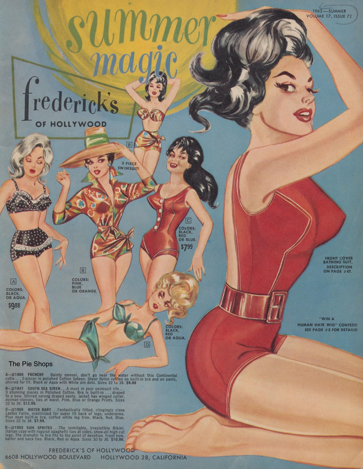 Frederick's of Hollywood 1963 Summer Magic Catalog