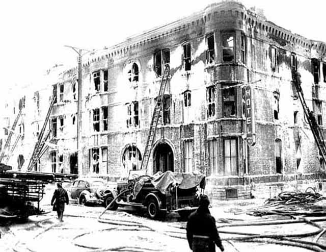 Marlborough Hotel Fire – January 3, 1940