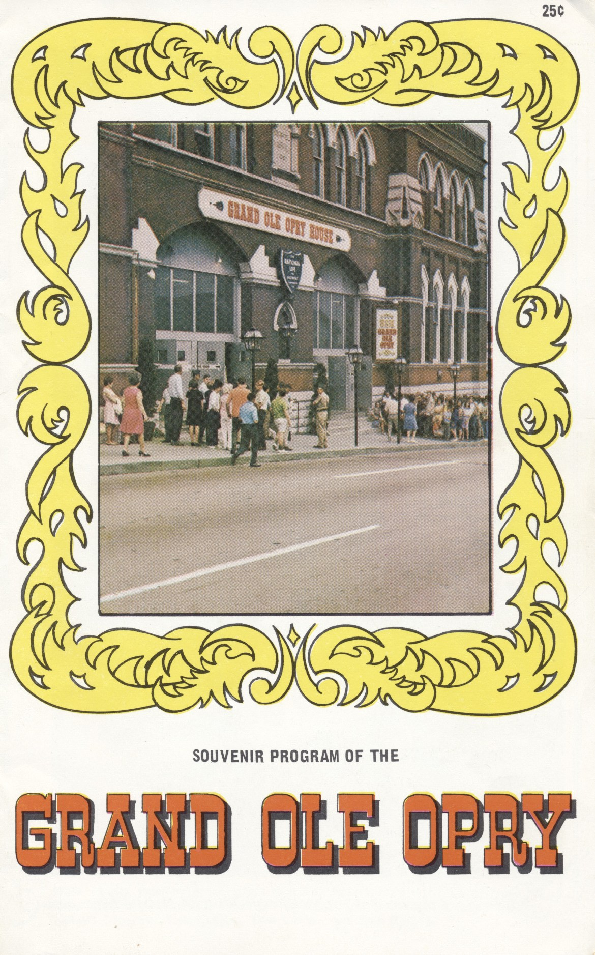 1970 Souvenir Program of The Grand Ole Opry