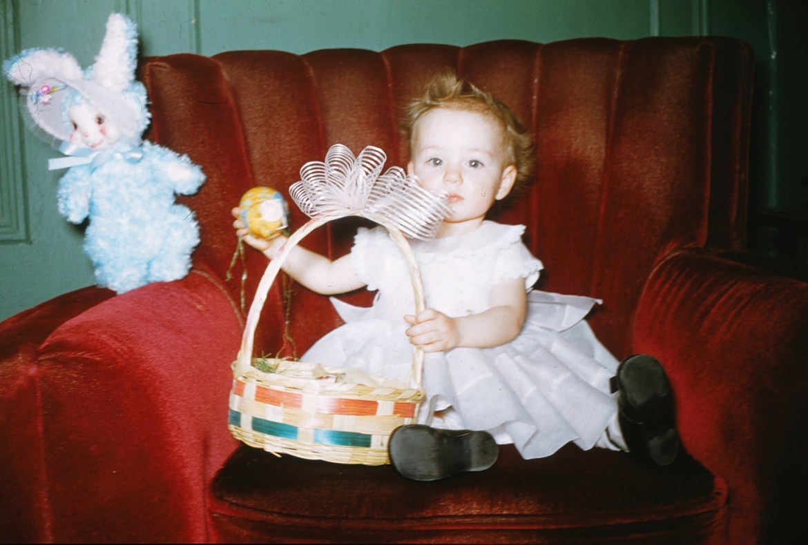 Found Photo Friday (Two Days Late): Easter Edition