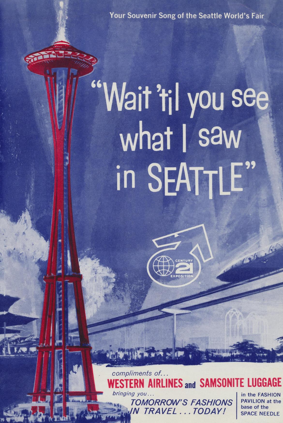 """Wait 'Til You See What I Saw in Seattle"""
