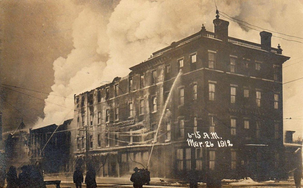 The Great Bellows Falls Fire – Bellows Falls, Vermont – March 26, 1912