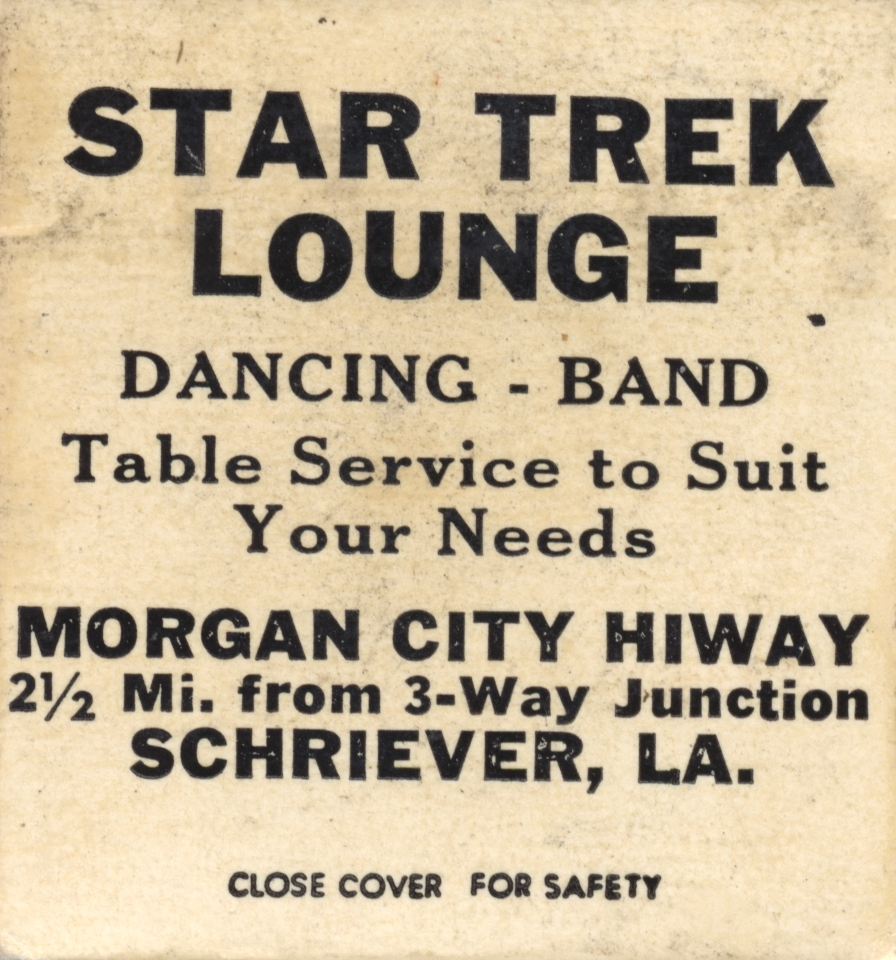 Star Trek Lounge – Schriever, Louisiana