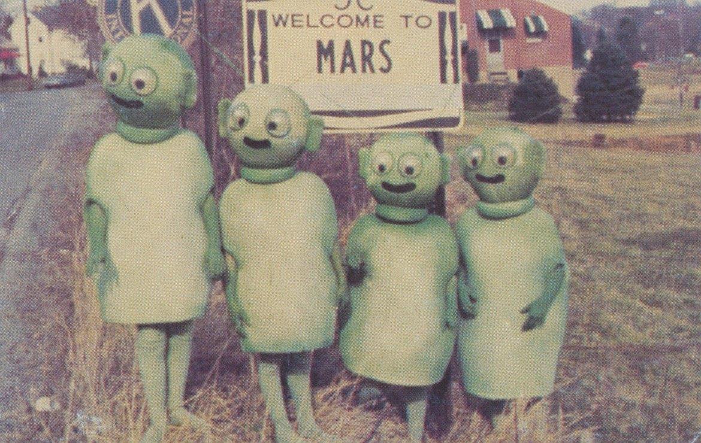 Welcome to Mars, Pennsylvania