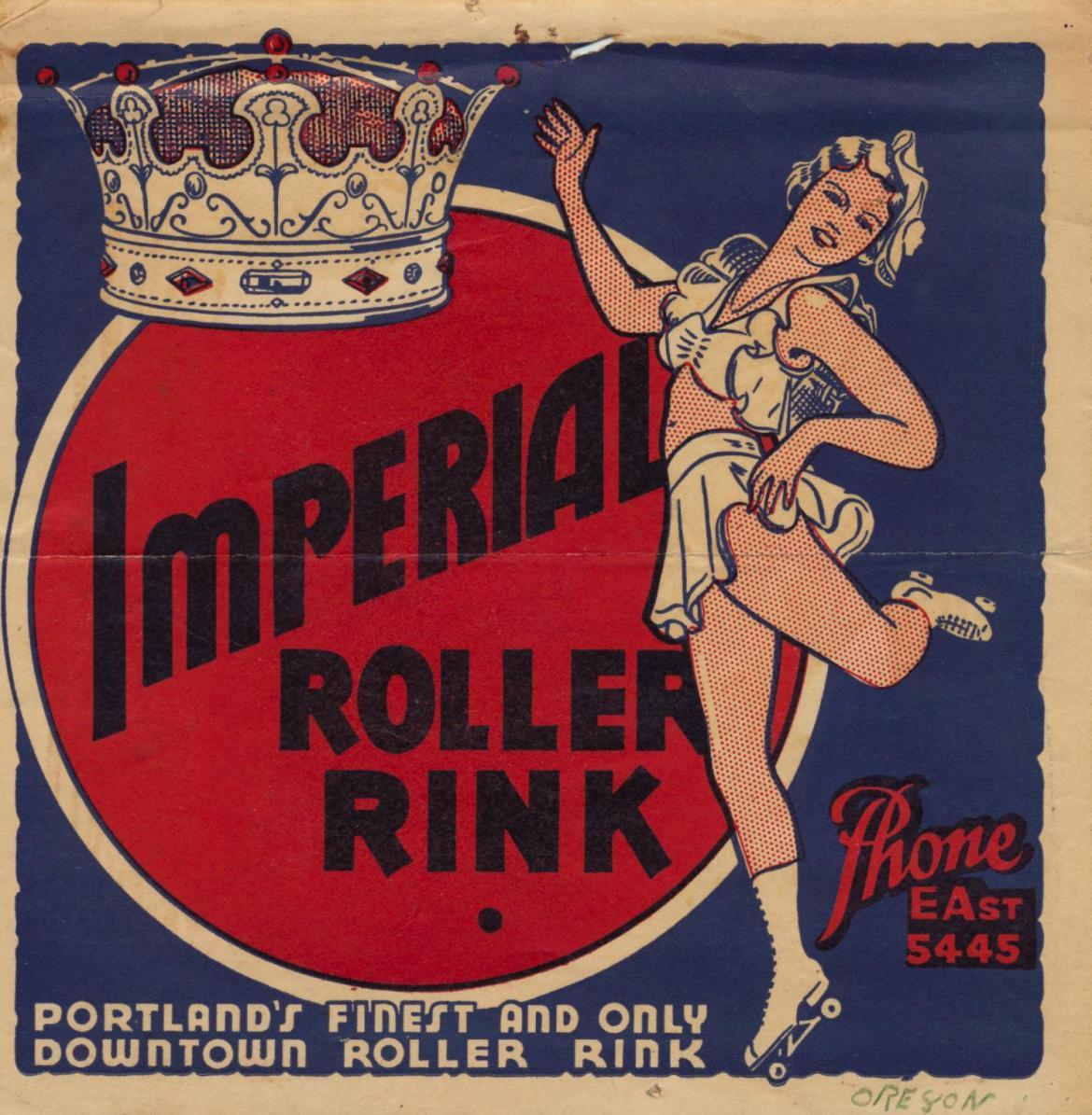 Roller Skating Labels: Be a Big Wheel
