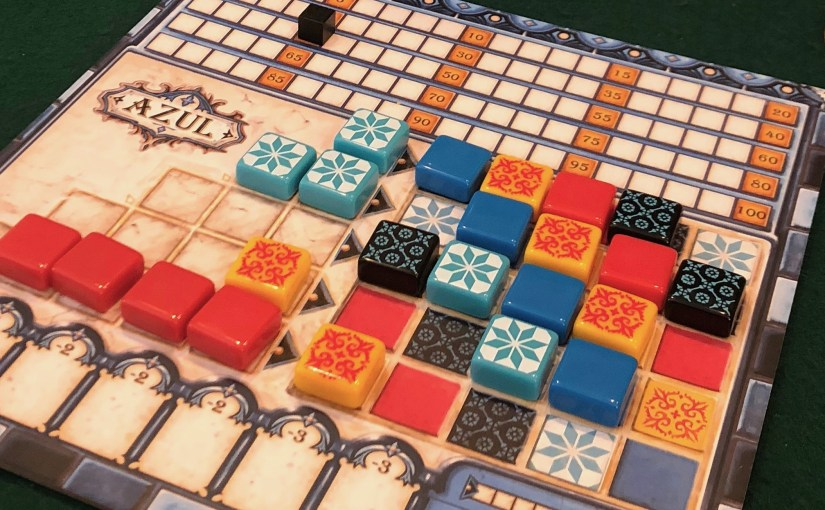 6 | Azul (The Literal Tile-Laying Game)